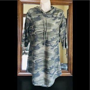 Camoflauge casual Dress/Tunic